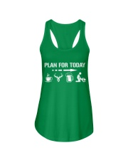 Hunting plan for today Ladies Flowy Tank thumbnail