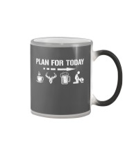 Hunting plan for today Color Changing Mug thumbnail