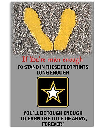 Army If you're man enough