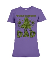 World's Dankest Dad Premium Fit Ladies Tee thumbnail