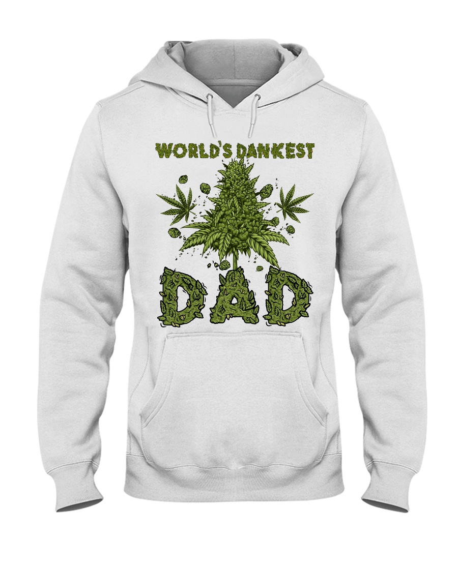 World's Dankest Dad Hooded Sweatshirt