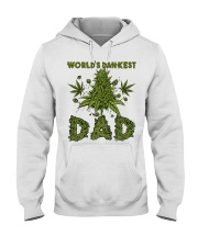 World's Dankest Dad Hooded Sweatshirt front