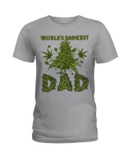World's Dankest Dad Ladies T-Shirt thumbnail