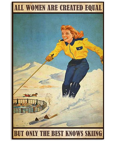 Skiing All women are created equal