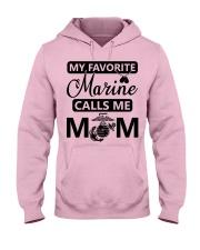 Marine Hooded Sweatshirt front