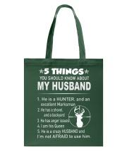 Hunter Wife Tote Bag thumbnail