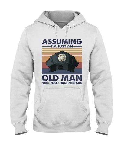 Police Officer Old Man