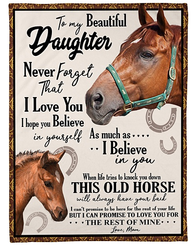 Horse To my beautiful Daughter