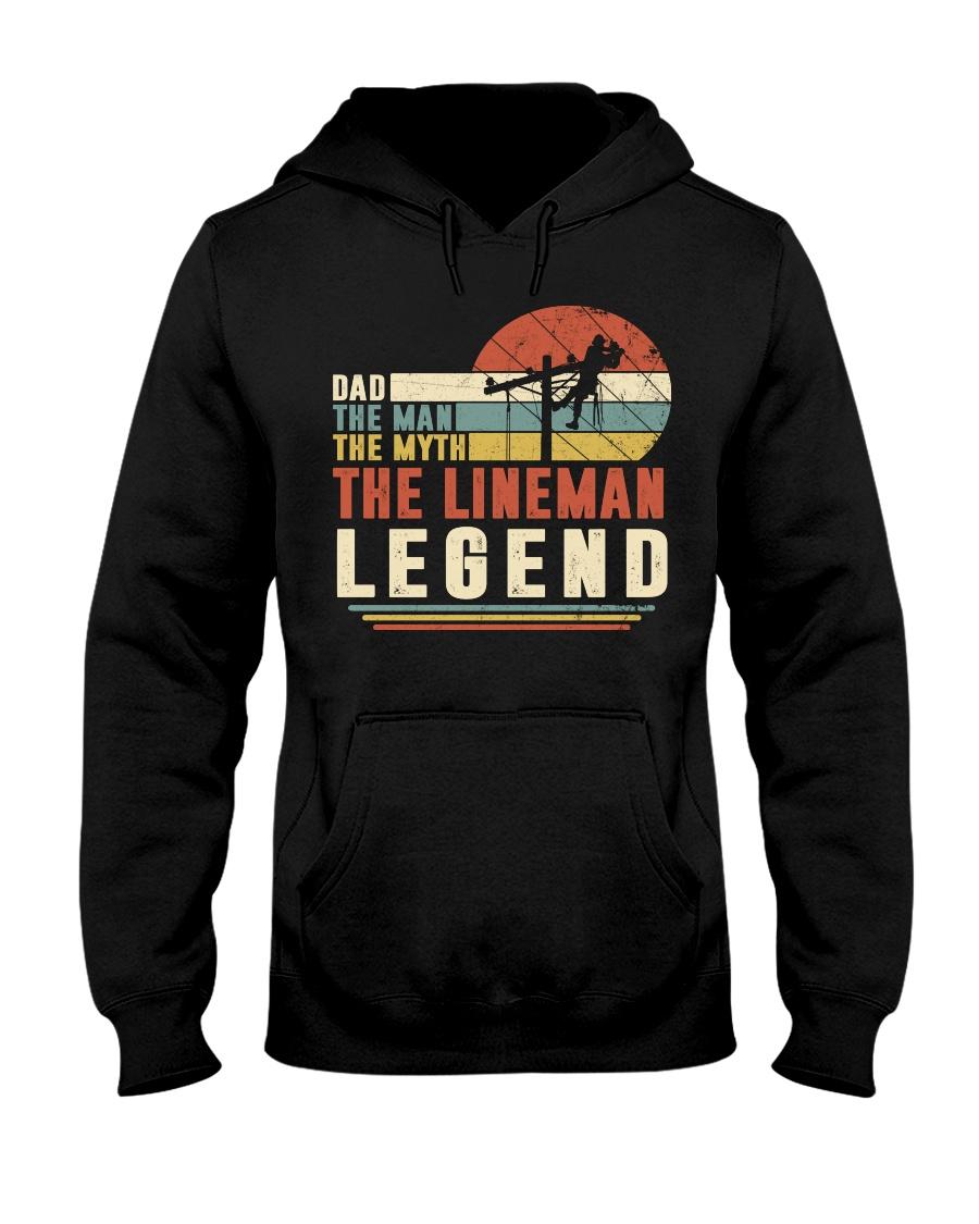 Lineman  Hooded Sweatshirt