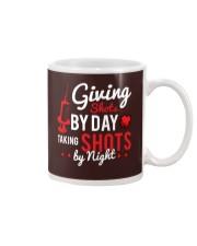 Nurse Shots by day Mug thumbnail