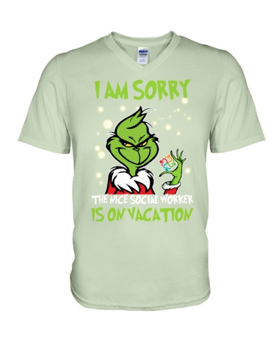 The nice Social worker is on vacation