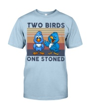 Two Birds One Stoned  Classic T-Shirt thumbnail