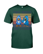 Two Birds One Stoned  Premium Fit Mens Tee thumbnail