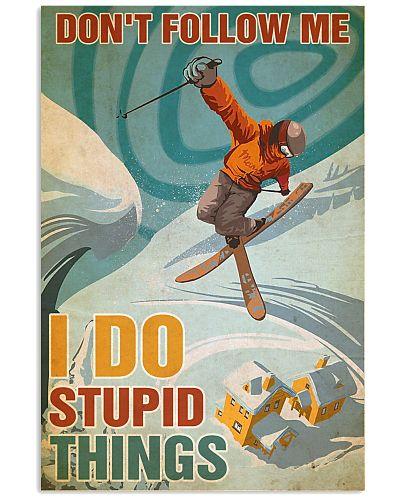Skiing Don't Follow Me