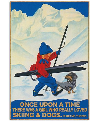 Skiing Once upon a time