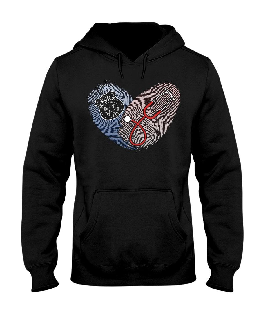 nursepolice Hooded Sweatshirt