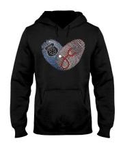 nursepolice Hooded Sweatshirt front