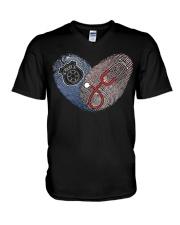 nursepolice V-Neck T-Shirt thumbnail