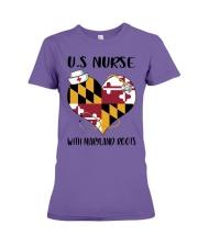 MaryLand Nurse Premium Fit Ladies Tee thumbnail