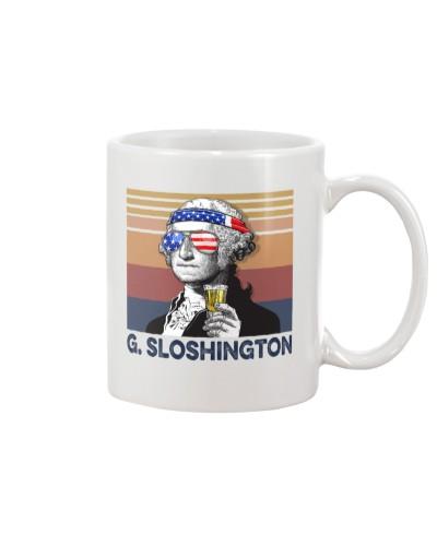 DrinkMugWhite G Sloshington
