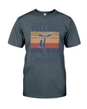 Lineman Yelling Classic T-Shirt thumbnail