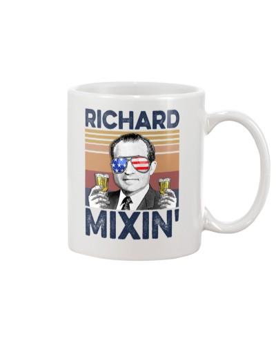 DrinkMugWhite Richard Mixin'