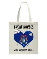 Michigan Nurse Tote Bag thumbnail