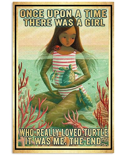 Girl Loved Turtle