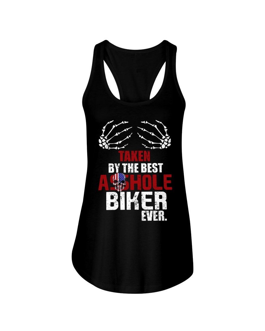 Taken by biker Ladies Flowy Tank