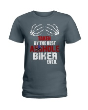 Taken by biker Ladies T-Shirt thumbnail