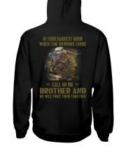 VETERAN BROTHER Hooded Sweatshirt back