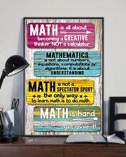 Math Teacher 11x17 Poster lifestyle-poster-2