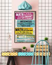 Math Teacher 11x17 Poster lifestyle-poster-6