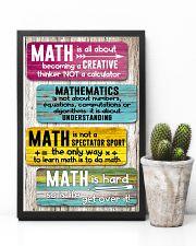 Math Teacher 11x17 Poster lifestyle-poster-8