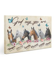 Horse God says you are Gallery Wrapped Canvas Prints tile