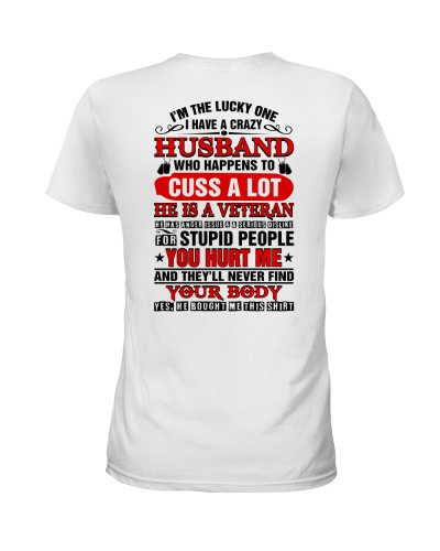 Veteran's wife - I'm the lucky one