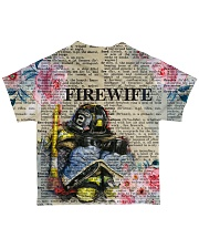 Firefighter Wife All-over T-Shirt back