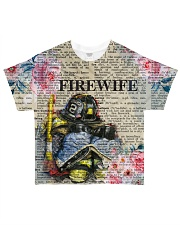Firefighter Wife All-over T-Shirt front
