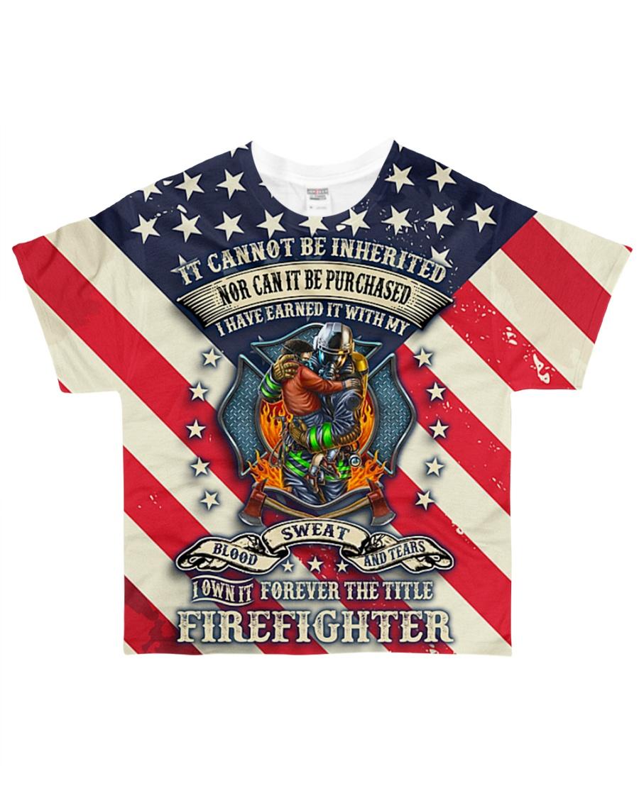 Firefighter  All-over T-Shirt