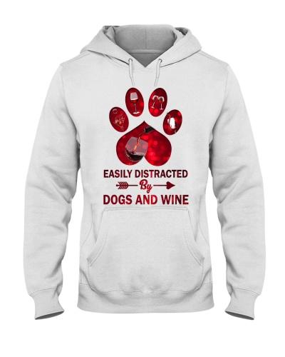 Wine and dog