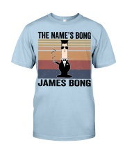 The Name's Bong  Classic T-Shirt thumbnail