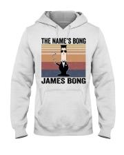 The Name's Bong  Hooded Sweatshirt front