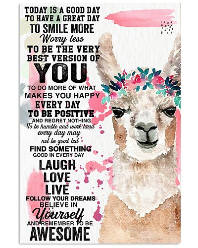 Llama believe in yourself