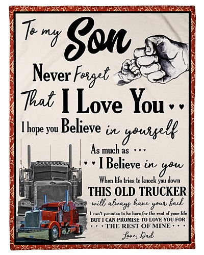 Trucker To my Son
