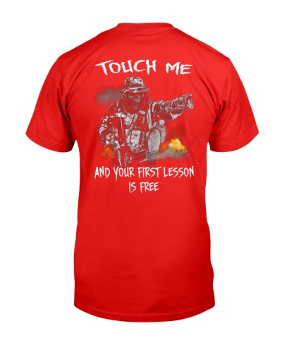 Touch me and your first lesson