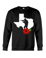 texas Veteran Day  Crewneck Sweatshirt thumbnail