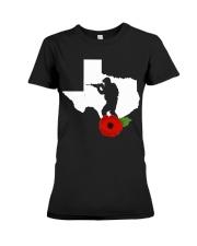 texas Veteran Day  Premium Fit Ladies Tee thumbnail