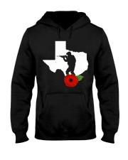 texas Veteran Day  Hooded Sweatshirt thumbnail