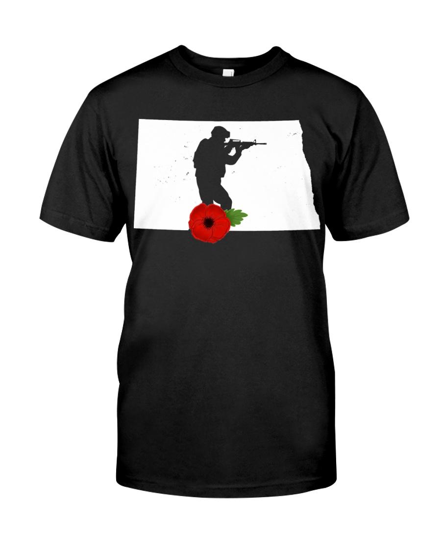 NorthDakota Veteran Day  Classic T-Shirt