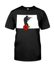 NorthDakota Veteran Day  Premium Fit Mens Tee thumbnail